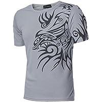 WINWINTOM Uomini Manica Corta T-Shirt Sport T Design Sottile Che Basa La Camicia