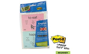 flashsticks Anglais Niveau débutant Post-it 1 Imprimé Sticky Notes