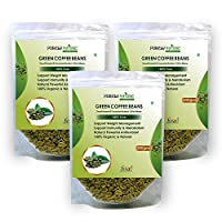 Purely Nature Green Coffee Beans Unroasted Arabica Pack of 3 (600Gm)