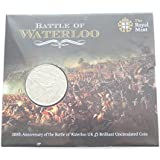 The 2015 200th Anniversary of Waterloo UK £5 BU Coin by The Royal Mint