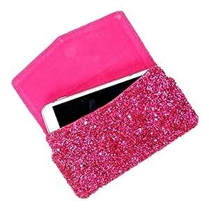 DooDa PU Leather Case Cover For Motorola Moto G (2nd Gen) (Pink)