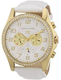 Tommy Hilfiger Watches Damen-Armbanduhr Analog Quarz Leder 1781280