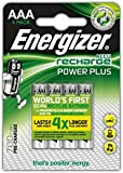 Energizer Power Plus Rechargeable AAA Battery (Pack of 4)