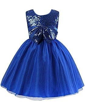 JYou Mädchen Pailletten-Kleid Festlich, verschiedene Farben zur Auswahl