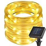 cuzile Manguera LED Solar 7m 50 LED Resistente al...