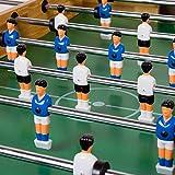 """Tischfussball """"Glasgow"""" Buche inkl. Zubehör Set, 2 Getränkehalter, höhenverstellbare Füße, nahtlos hochgezogene Spielfeldecken, Tischkicker, Kicker, Kickertisch - 4"""