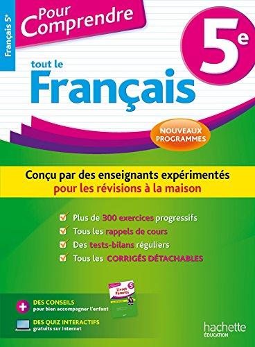 Pour Comprendre Français 5e - Nouveau programme 2016
