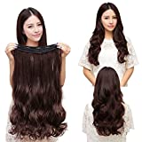 Best Extensions For Hairs - Rapidsflow 5 Clips Curly 32-inches Hair Extensions Review