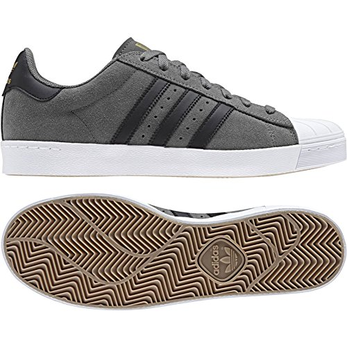 Adidas Superstar Vulc ADV Grey Four F17/Core Black/Gold Met