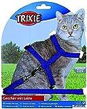 Trixie 4185 Katzengeschirr mit Leine, Nylon, 22-42 cm/10 mm, 1,25 m