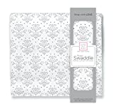 Best HALO Swaddle Blankets - SwaddleDesigns X-Large Cotton Muslin Swaddle Blanket, Sterling Lillie Review