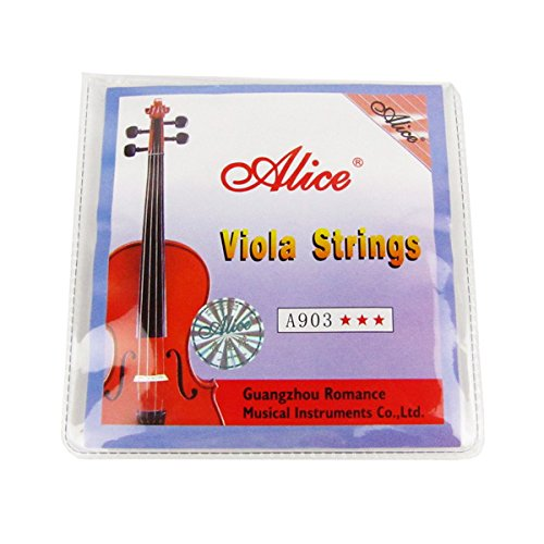 Nylon Electric Acoustic (Alice Viola Saitensatz A / D / G / C Viola Saiten für Größe 4/4 Set)