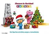 Pocoyó. ¡Decora la Navidad!: Con figuritas extraíbles, juegos y manualidades (Pocoyo)