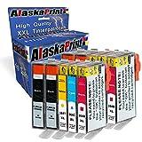 Alaskaprint 10x Druckerpatronen mit Chip Kompatibel zu HP 364 für HP Photosmart 5510 5511 5512 5514 5515 5520 5522 5524 6510 6520 6512 6515 7510 7520 7515 B8550