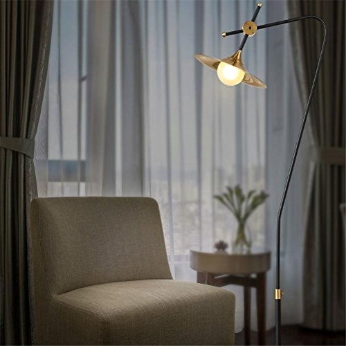 GMM® Lampen Flur führte Licht Einfache Glas senkrecht Dreieck Dekoration Schlafzimmer Wohnzimmer moderne Schreibtisch Studie Lampe Verbesserungen für das Heim Beleuchtung Stehleuchte Art Stehleuchte Warmes Licht Antike Kochutensilien