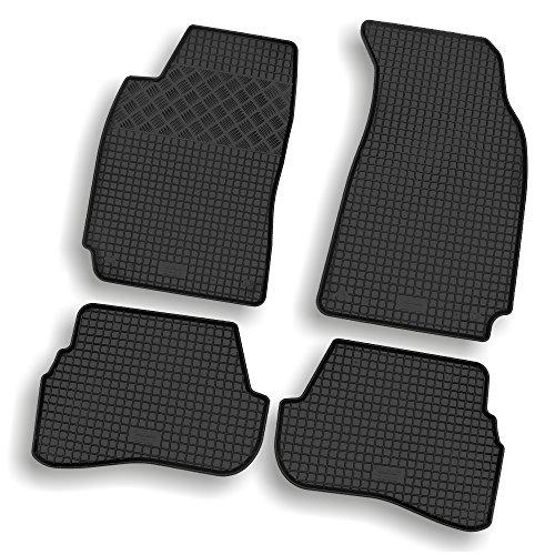 Passgenaue Gummimatten Gummi-Fußmatten schwarz für Fahrzeug Modell siehe - Gummi-auto-matten Mercedes-benz