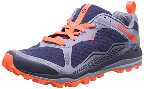 Merrell Damen All Out Crush Light Traillaufschuhe, Rose Blau (Crown Blue)