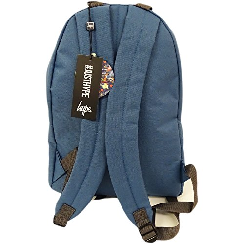Just Hype Hype bag kit (Plain), Borsa a spalla uomo Taglia Unica Airforce Blue