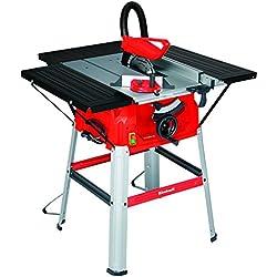 Einhell table de sciage TC-TS 2025/1 UA (1800 W, Régime à vide 5000 tr/min, 24 dents,- Lame de scie 250 x 30 mm, Alimentation 220-240 V | 50 Hz)