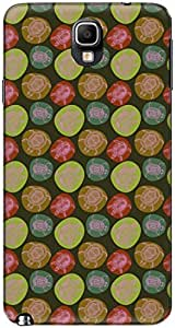 The Racoon Lean printed designer hard back mobile phone case cover for Samsung Galaxy Note 3. (turtle luc)