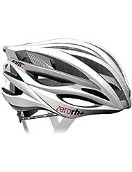 zero rh+, Casco bici per lo sport ed il tempo libero ZW, EHX6050-03-M, 54-58 cm, colore bianco-argento
