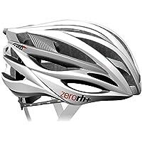 RH+ zero, Casco bici per lo sport ed il tempo libero ZW, EHX6050-03-M, 54-58 cm, colore bianco-argento