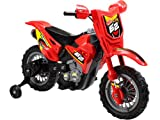 Childrens Red Dirt Bike 6v