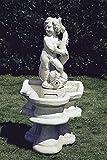 pompidu-living Brunnen, Gartenbrunnen, Zierbrunnen, fountain, H 87 Farbe sandstein
