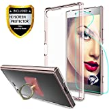 Xperia X Compact Clear Case With HD Screen Protector +