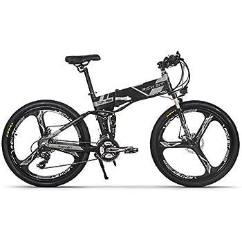 jimai rt 860 mans faltende elektro bike mountain hybrid. Black Bedroom Furniture Sets. Home Design Ideas