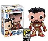 Funko-SDCC 2013Pop 3Iron Man Mark 42Démasqué Tony Stark Figurine