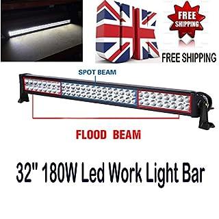 2PCS 27W LED-Arbeitsleuchte Offroad Flutlicht Lampe Quadratisch Flutlicht Motorradhelm Truck boot Bar 12V 24V von autofather