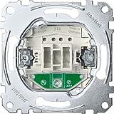 Merten MEG3160-0000 Taster-Eins. mit Orientierungslicht, Schließer 1-polig, 10 A, AC 250 V, Steckkl.