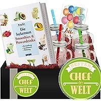 Bester Chef | Do It Yourself Set Smoothie To Go Becher | Bester Chef Geschenk