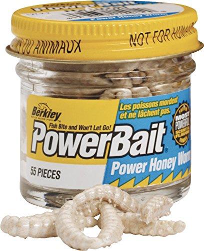 Berkley Powerbait Power Honey Worms Farbe WeißInhalt ca. 55 Stück - Worm Power Honey