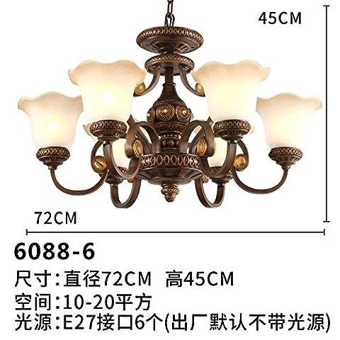Nain House restaurant résine rustique rétro lampe chambre salon luminaire