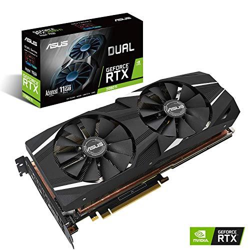 ASUS Dual GeForce RTX 2080 Ti Advanced Edition - Tarjeta gráfica (11 GB, GDDR6, 352 bits, 7680 x 4320 Pixeles, PCI Express 3.0)