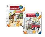 Ravensburger Tiptoi 005802 Entdecke den Bauernhof und 005819 Unterwegs mit der Feuerwehr