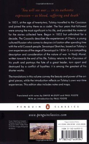 The Cossacks and Other Stories: Stories of Sevastopol, the Cossacks, Hadji Murat (Penguin Classics)