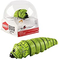 KOSBON Remote Control Caterpillar Scary Toy, Bromas Insectos travieso Scary Trick Toys.(Green)