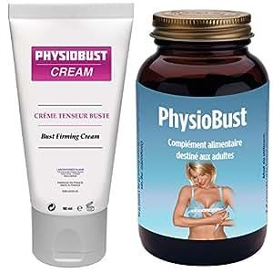 Physiobust - Volume Poitrine - 30 Gélules + 1 Tube De Crème - 30 Jours
