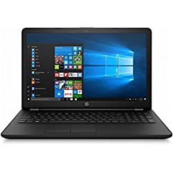 HP Notebook 15-BS093NS - Ordenador portátil (Intel Celeron N3060, 8GB RAM, 500GB HDD, Windows 10), Color Negro - Teclado QWERTY Español
