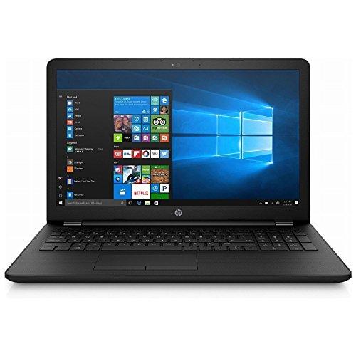 HP Notebook 15-BS093NS – Ordenador portátil  (Intel Celeron N3060, 8GB RAM, 500GB HDD, Windows 10), Color Negro – Teclado QWERTY Español