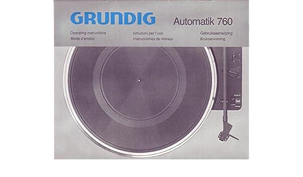 Grundig Automatik 760 Tv, Video & Audio