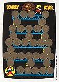 DONKEY KONG Rubbelkarte / Rub-Off Card - Nintendo für Sammler - 1982 Game&Watch