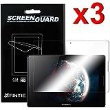 Fintie Lenovo IdeaTab A10-70 10,1-Inch Ultra-Klar Schutzfolie (3 Stück) - High Definition Kristallklar Folie Premium Displayschutzfolie Screen Protector