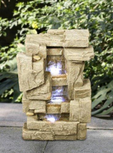 Toller Zimmerbrunnen mit Led Lampe Raumbelüfter TOP