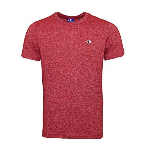 Champion T-Shirt Crewneck 210657, Größe:S, Farbe:Burgundy Marl (Crewneck T-shirt Marl)