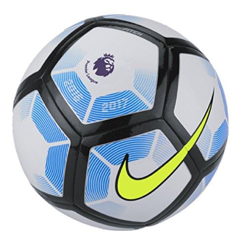 Nike Pitch Premier League 2017taglia 3, 4e 5, colore: bianco/blu, Taglia 5