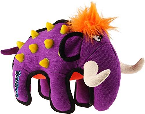 GiGwi 6501 Robustes Hundespielzeug Duraspikes Elefant ohne Quietscher, Kombination aus Baumwolle, Plüsch und TPR, für große Hunde